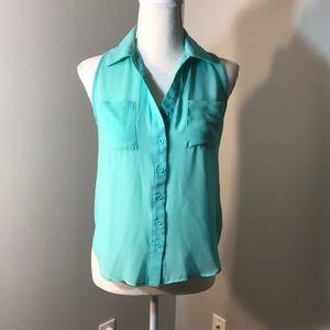 Blue blouse